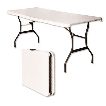 Ez Up 6 Bi Fold Portable Display Table With Carrying