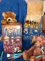 Busy Bears Brush Box Pattern Packet