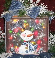 Snowflake Collector Glass Block Pattern Packet