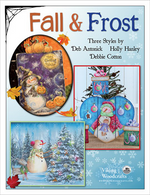 Fall and Frost Combined Artist Book Holly Hanley Deb Cotton and Deb Antonick