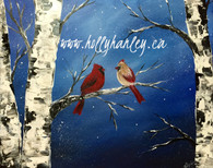 Winter Cardinals Pattern Packet