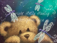 Dragonfly Bear Pattern Packet