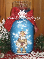 Let it Snow Ginger Jar Pattern Packet