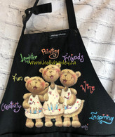 Painting friends Apron EPacket (print out at your home)