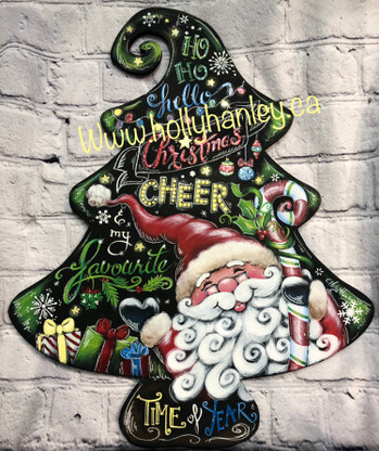 Ho Ho Hello Christmas Cheer by Holly Hanley