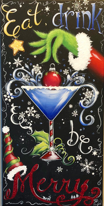 Eat Drink and Be Merry by Holly Hanley Epacket