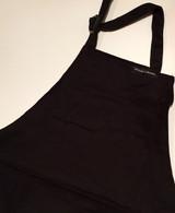 Black painting apron