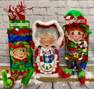 Chunky Christmas Mrs Claus & the Elves By Holly Hanley