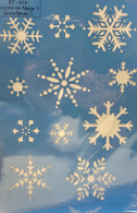 Snowflake Stencil ST-030