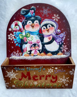 Merry Little Christmas Penguins by Holly Hanley Epacket