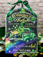 Zoom Live Class Lucky Clover Farm Truck $40 Sunday, March 14th 11am CST-3pm