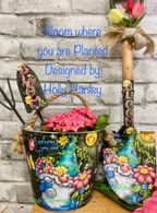 Bloom Where you are Planted Epacket by Holly Hanley Copyright 2021