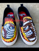 Light It Up shoes by Holly Hanley