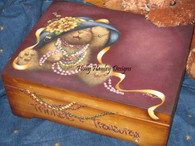 Trinkets & Treasures Jewelry Box Pattern Packet