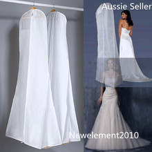 Bridal Wedding Dress Cover Bridal Gown Garment Breathable Cover Storage Bag