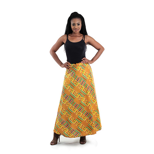 home afrocentric clothing kente wrapper skirt image 1