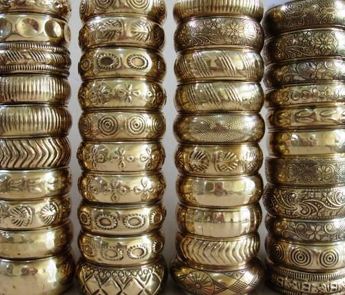 "1-1.5"" Brass Bangles (Per One)"