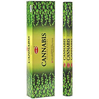 "Cannabis Incense Large Sticks  Cannabis incense 16"" large sticks. 10 sticks per box."