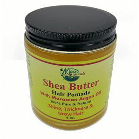 Shea Butter Hair Pomade  Made with 100%  Moroccan and Argan Oils to promote healthy hair growth, excellent for breakage and dryness of the scalp.