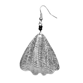 Sea Shell Aluminum Earrings