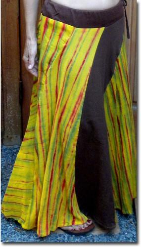 Wood Stock Rasta Skirt (Black)