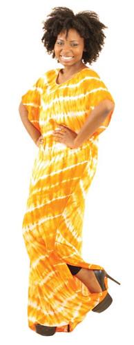 Tie Dye Long Dress
