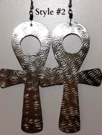 Ankh Earrings-Style #2