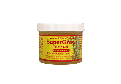 ~Natural ingredients (Biotin & Placenta Extracts)   ~Gel Formula  ~Promotes Hair Growth  ~Thickens thinning hair  ~Prevents Hair Loss & Conditions the hair.