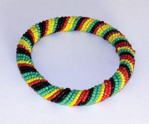 Rasta Maasai Beaded Bracelet