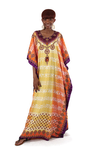 African Queen Kaftan (Gold only)