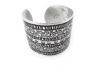 Aluminum Cuff Bracelets