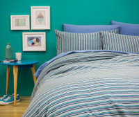 Capri (with BedT Sheet Set in Chambray)