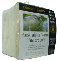 Wool/Polyester Underquilt