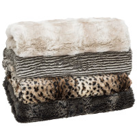 Faux Fur Throw Rug