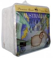 Australian Wool Blend Quilt Machine Washable