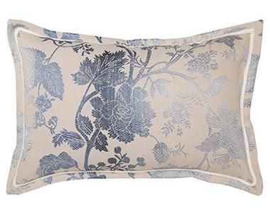 Ambrosia Indigo Pillowcase