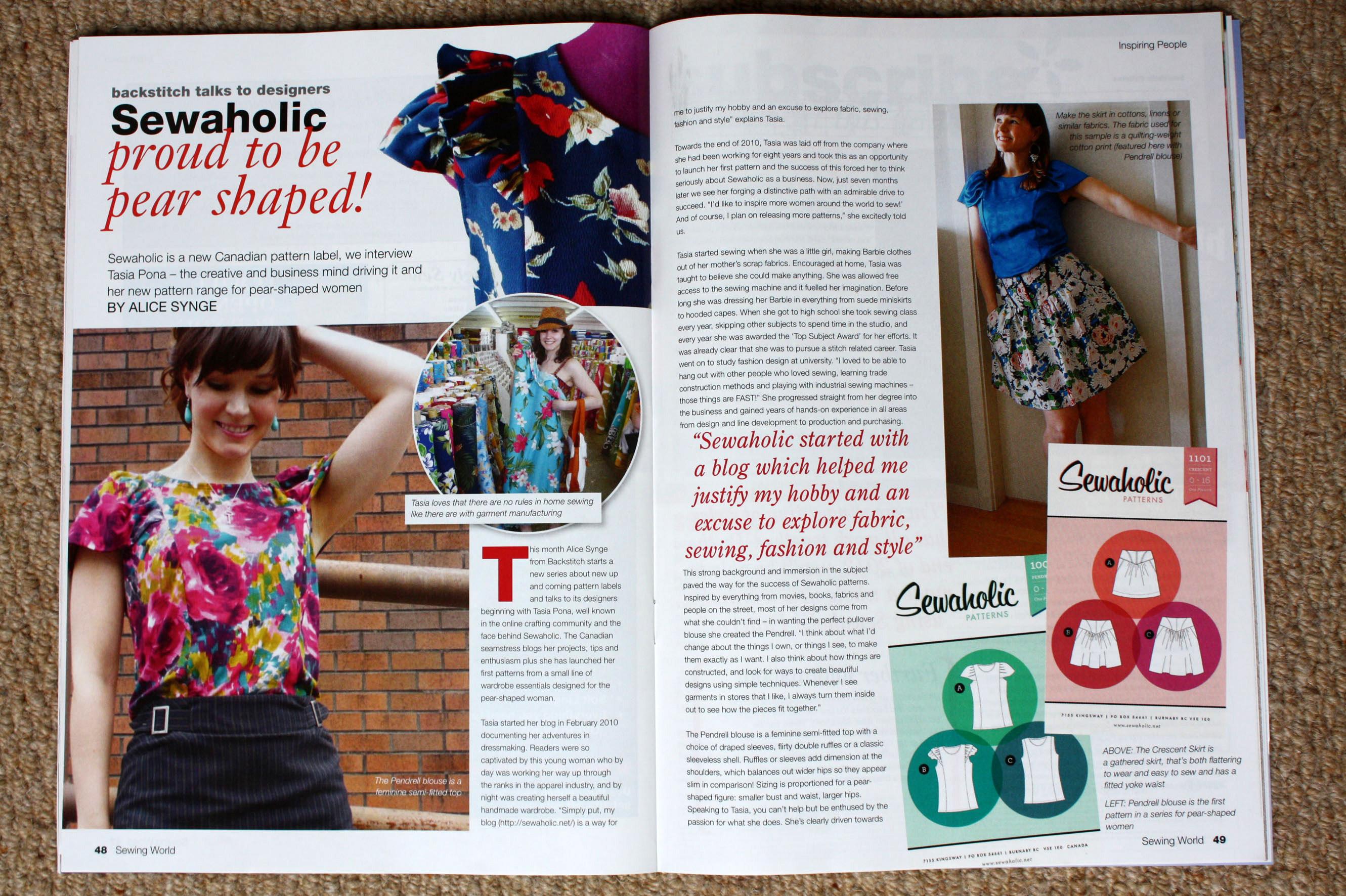 Press sewing world uk june 2011 jeuxipadfo Choice Image