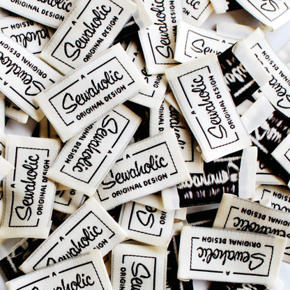 Sewaholic Patterns sew-in clothing labels - 'A Sewaholic Original Design'