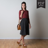 Rae Skirt by Sewaholic Patterns, View C