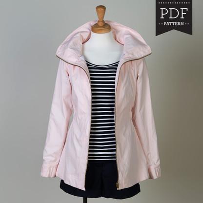 Minoru Jacket by Sewaholic Patterns, View A