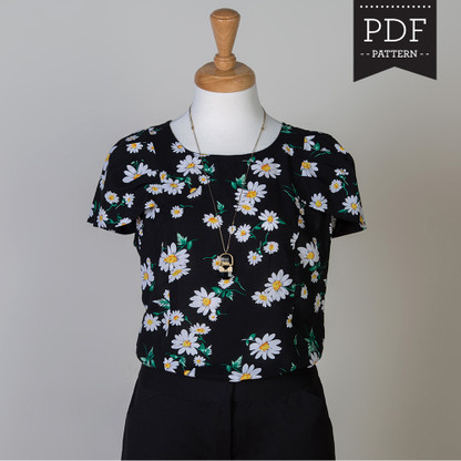 Pendrell Blouse sewing pattern