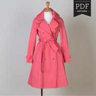 Robson Coat by Sewaholic Patterns