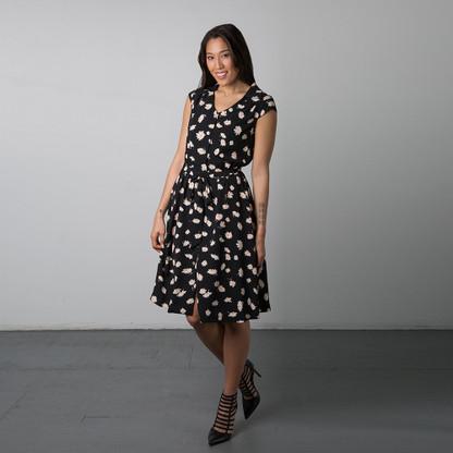 Nicola Dress by Sewaholic Patterns, View A
