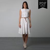 Harwood Dress by Sewaholic Patterns, View B