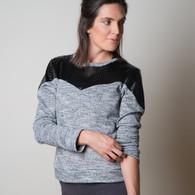 Fraser Sweatshirt by Sewaholic Patterns, View A