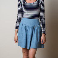 Crescent Skirt by Sewaholic Patterns, View B