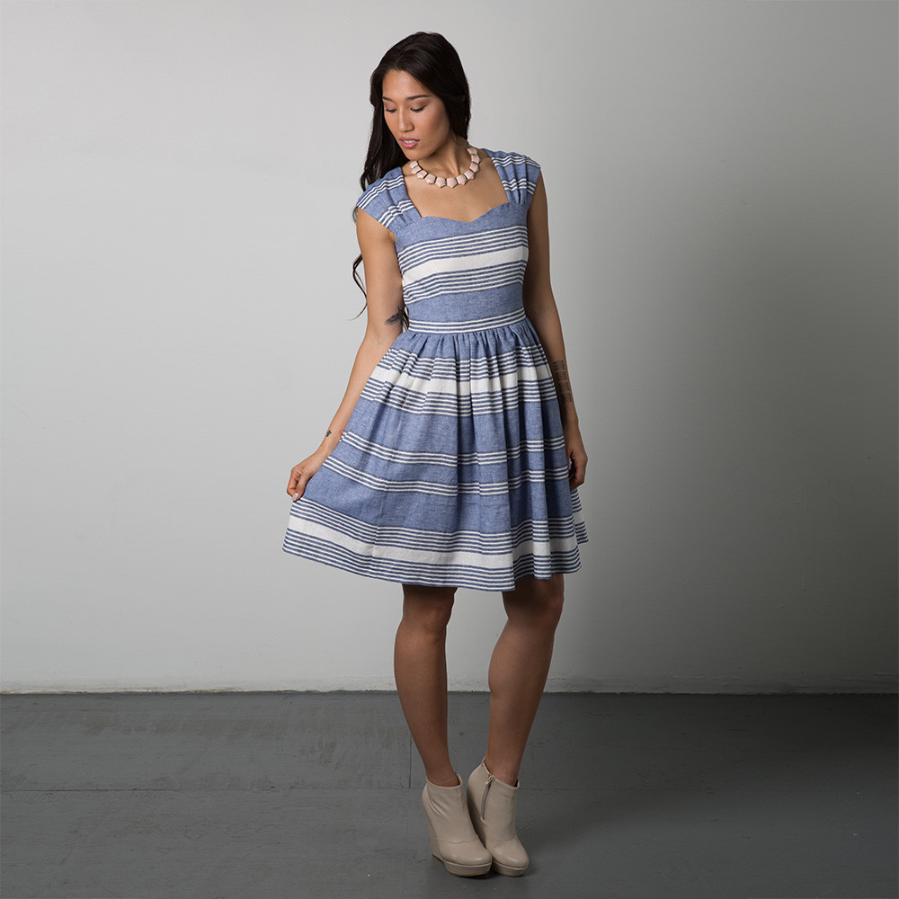 Cambie Dress by Sewaholic Patterns, View B