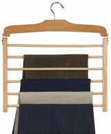 Tiered Wooden Pant Hanger