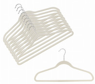 Linen Velvet Suit Hangers (Sold in Bundles of 20/50/100)