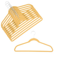 Golden Honey Velvet Suit Hangers (Sold in Bundles of 20/50/100)
